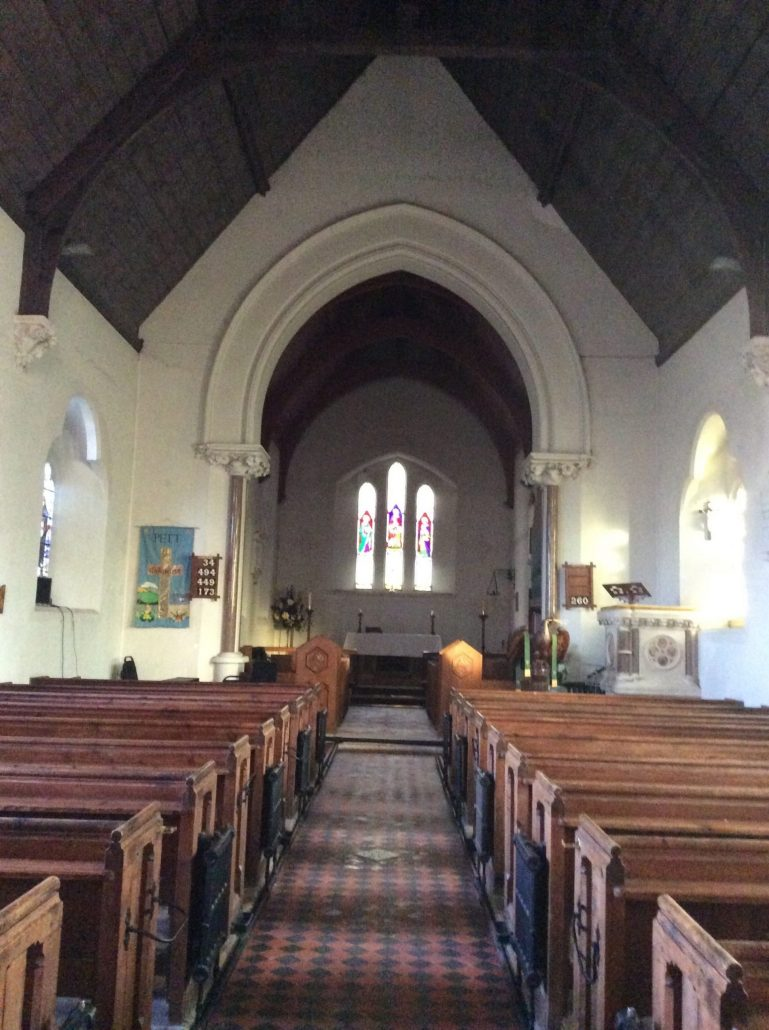 Interior of St. Mary and St. Peter